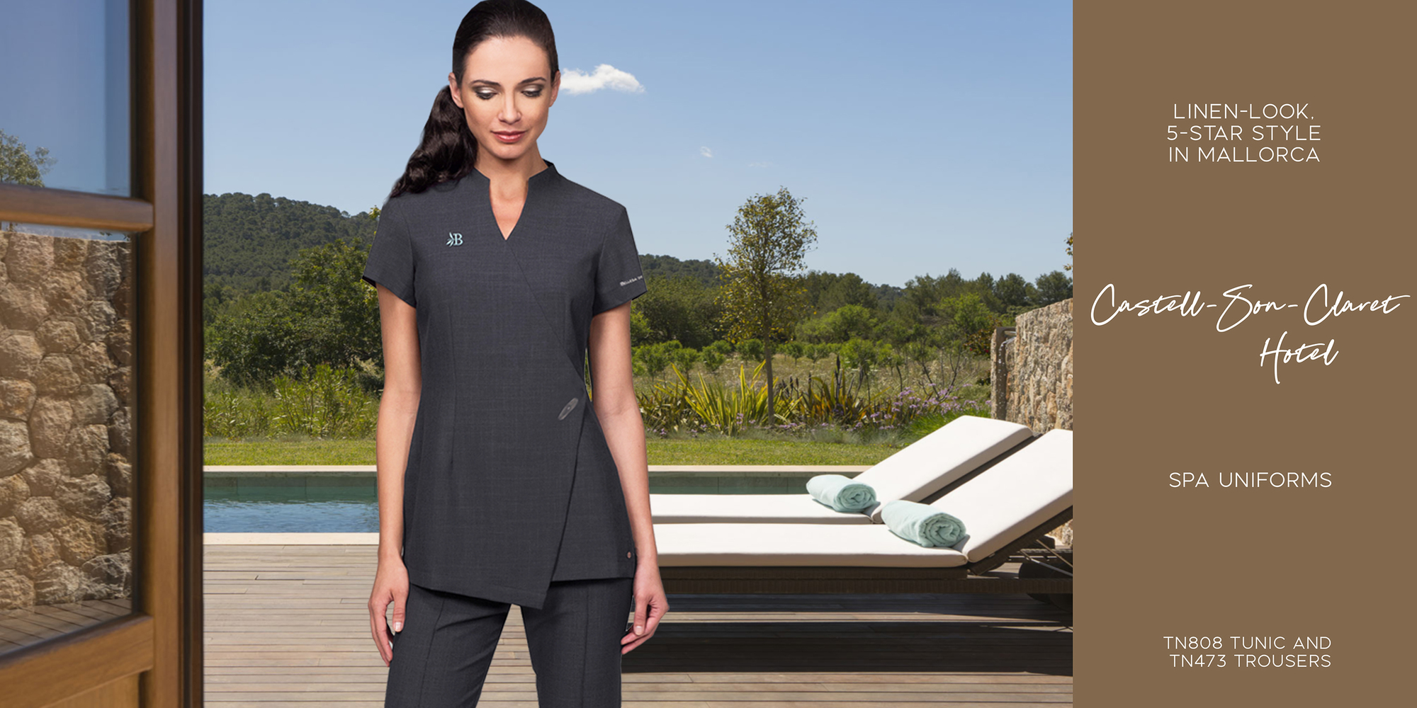Inline london corporate clothing manufacturer and for Spa uniform supplier in singapore